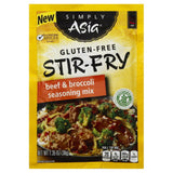 Simply Asia Mild Beef & Broccoli Stir-Fry Gluten-Free Seasoning Mix, 1.35 Oz (Pack of 12)