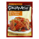 Simply Asia Kung Pao Stir Fry Sauce Packet, 4.43 FO (Pack of 6)