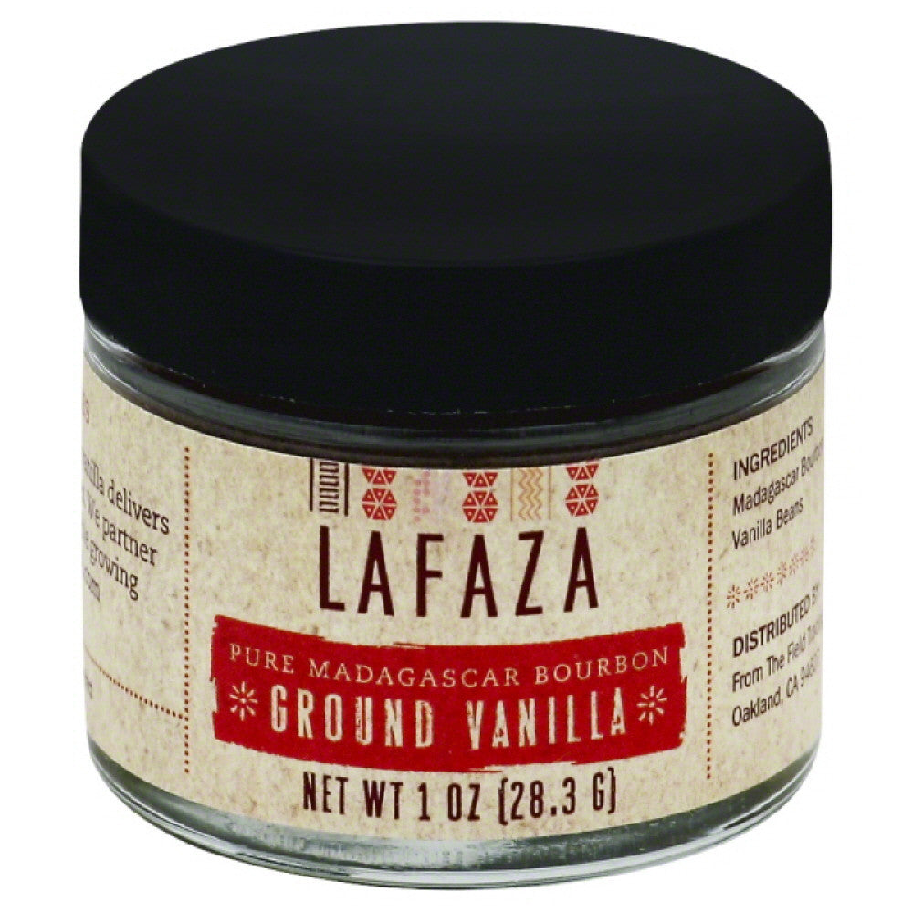 Lafaza Pure Madagascar Bourbon Ground Vanilla, 1 Oz (Pack of 6)
