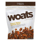 Woats Peanut Butter Graham Slam Oatsnack, 10 OZ (Pack of 9)