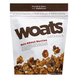 Woats Nuts About Berries Oatsnack, 10 OZ (Pack of 9)