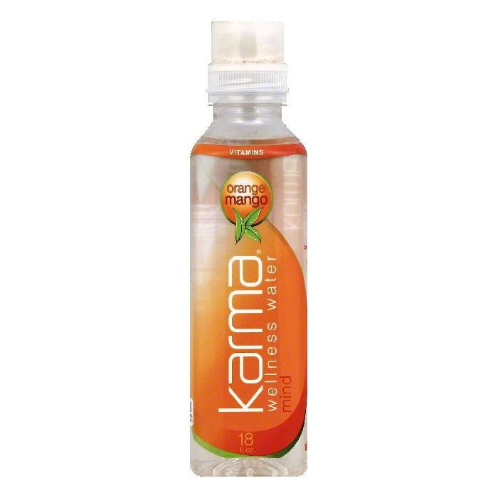 Karma Orange Mango Mind Wellness Water, 18 OZ (Pack of 12)