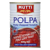 Mutti Finely Chopped Tomato Polpa, 14 OZ (Pack of 12)