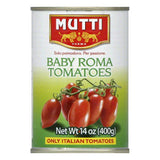 Mutti Baby Roma Tomato, 14 OZ (Pack of 12)