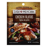Casa Mexicana Chicken Fajitas Mix, 1 OZ (Pack of 12)