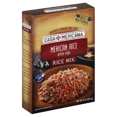 Casa Mexicana Mexican Rice Rice Mix, 8 Oz (Pack of 12)