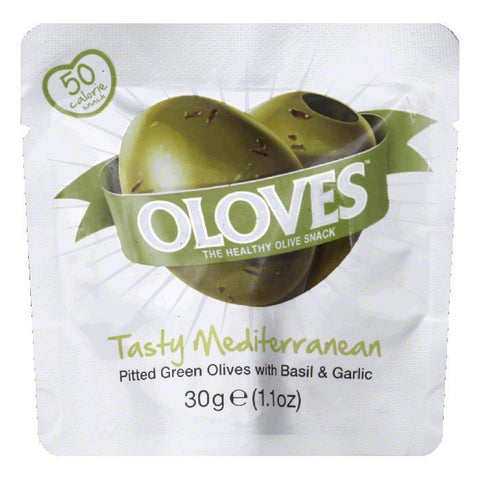 Oolves Tasty Mediterranean Olive, 1.1 OZ (Pack of 10)