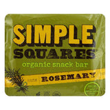 Simple Squares Bar Snack Rosemary, 1.6 OZ (Pack of 12)