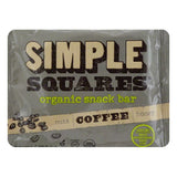 Simple Squares Bar Snack Coffee, 1.6 OZ (Pack of 12)