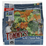 Tommys the Mix'd Vegetable Medley Seasoned Steamables, 10 Oz (Pack of 12)
