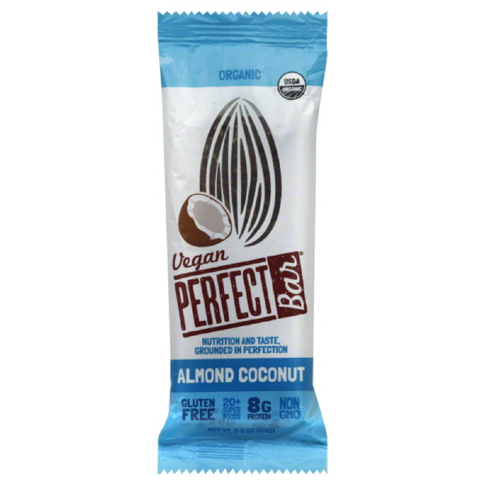 Perfect Bar Organic Almond Coconut Bar, 2.3 Oz (Pack of 8)