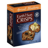 Earth and Sun Crisps Apricot Blueberry Cracker, 6 Oz (Pack of 15)
