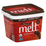 Melt Chocolate Organic Buttery Spread, 13 Oz (Pack of 12)