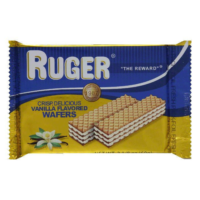 Ruger Wafter Vanilla, 2.12 OZ (Pack of 12)