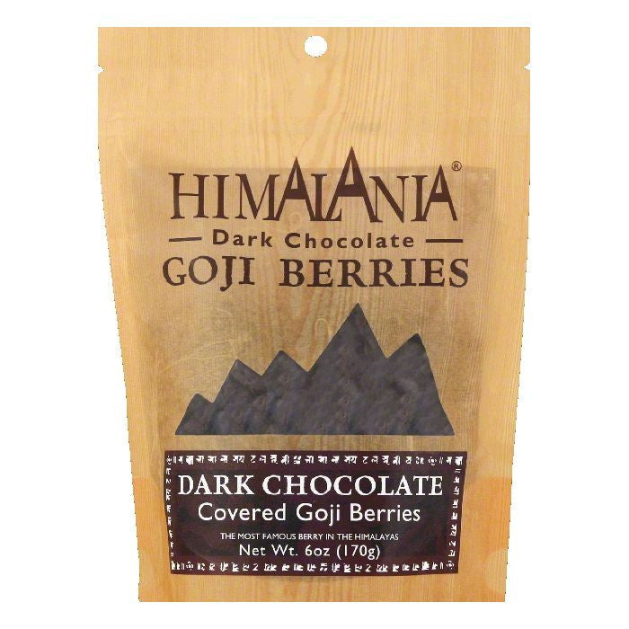 Himalania Chocolate Covered Goji Berries, 6 OZ (Pack of 12)
