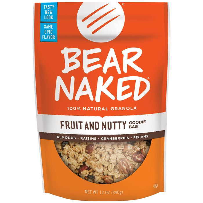 Bear Naked Fruit & Nut Granola 12 Oz Bag (Pack of 6)