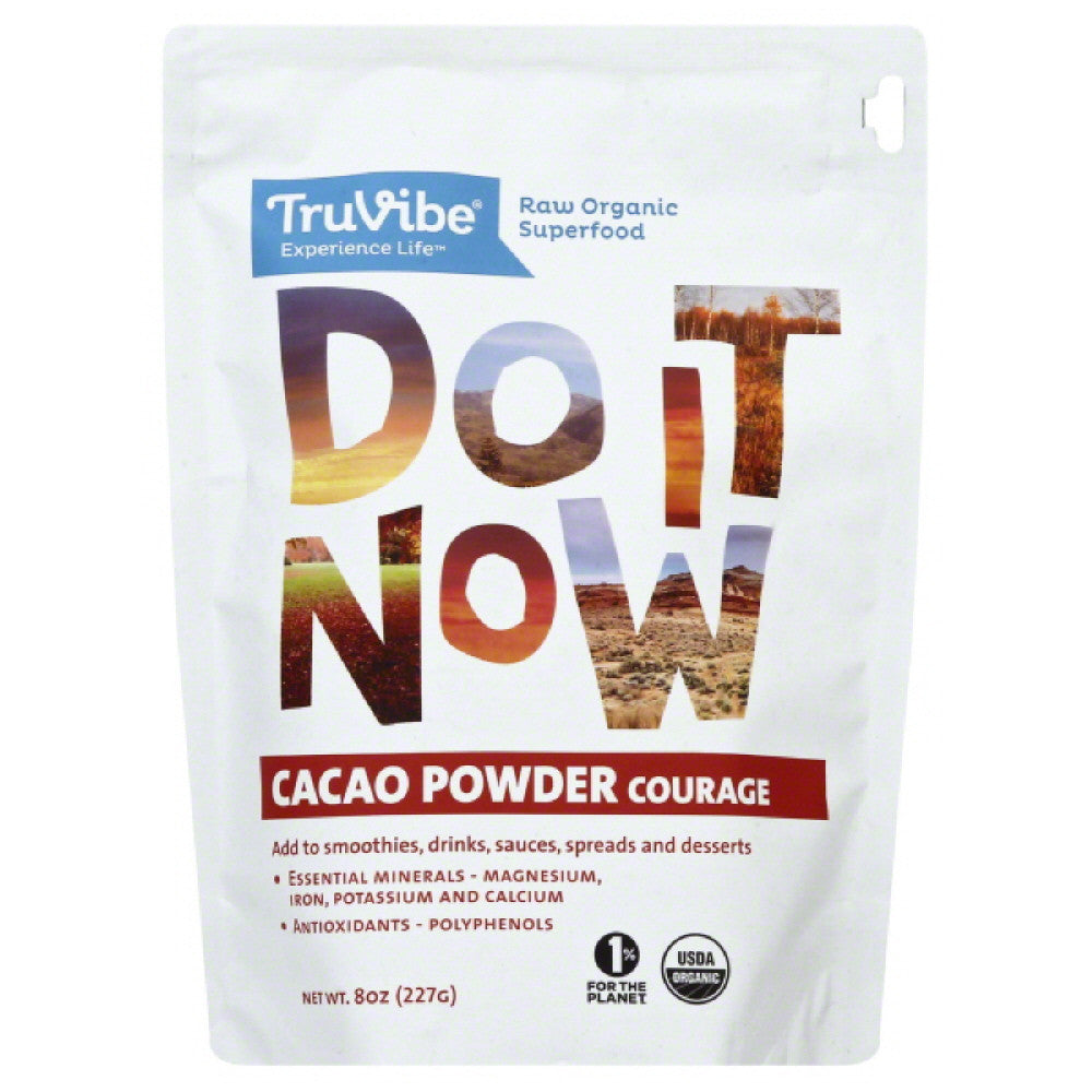 TruVibe Cacao Powder, 8 Oz