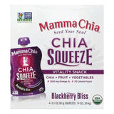 Mamma Chia Blackberry Bliss Organic Vitality Snack, 4 ea (Pack of 6)