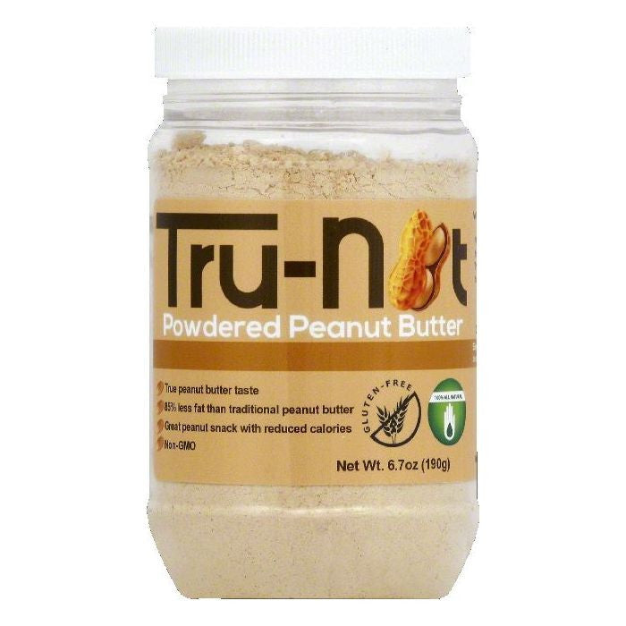 Tru nut Powdered Peanut Butter, 6.7 OZ (Pack of 6)