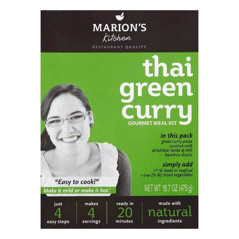 Marions Kitchen Thai Green Curry Gourmet Meal Kit, 16.7 OZ (Pack of 5)