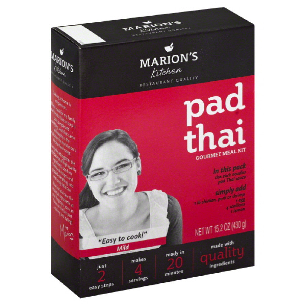 Marions Kitchen Mild Pad Thai Gourmet Meal Kit, 15.2 Oz (Pack of 5)