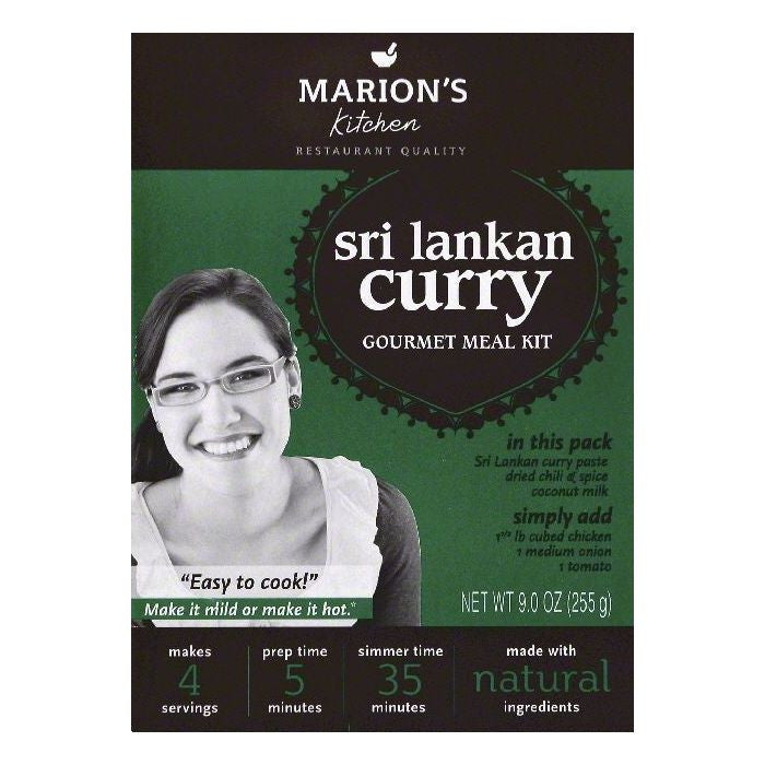 Marions Kitchen Sri Lankan Curry Gourmet Meal Kit, 9 OZ (Pack of 5)