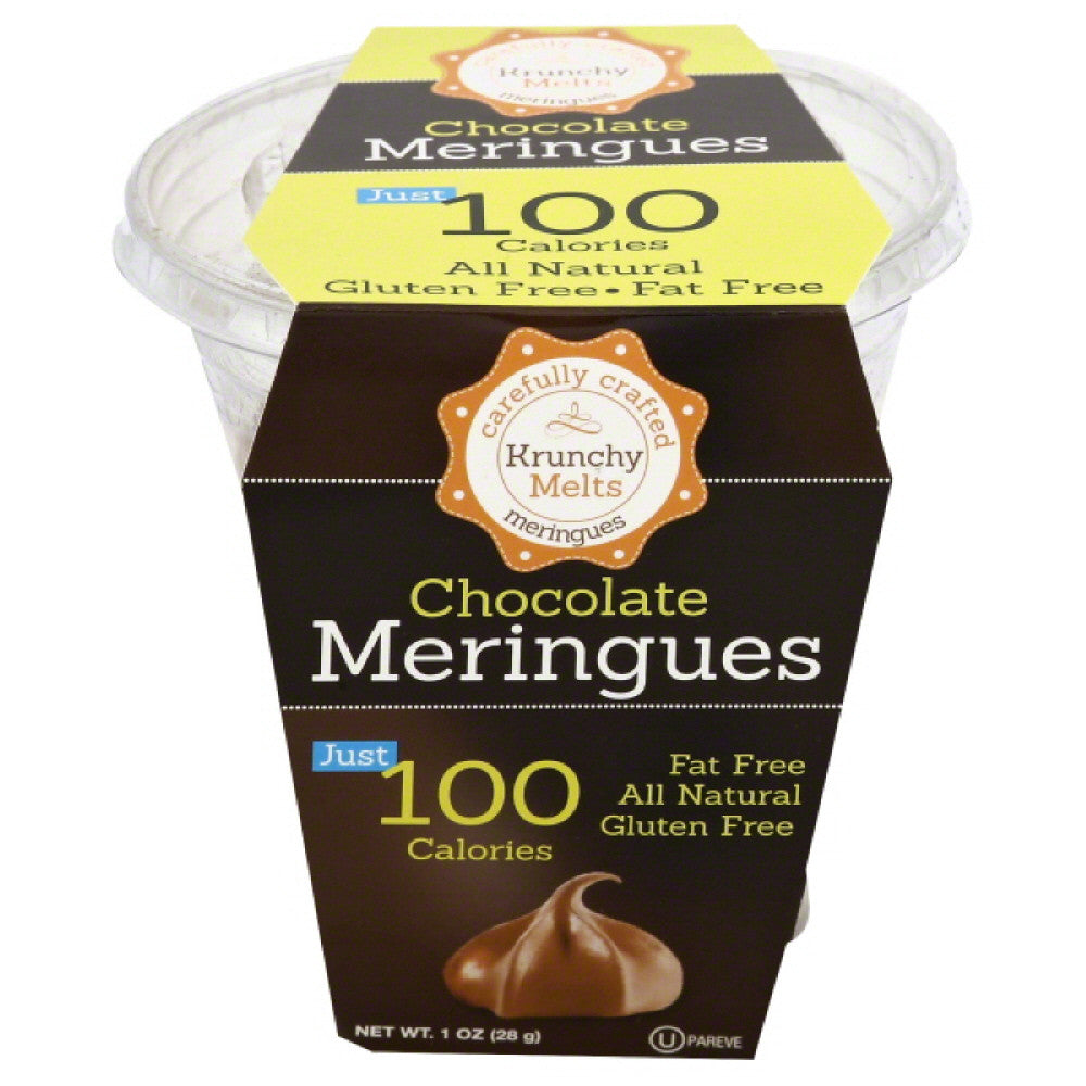 Krunchy Melts Chocolate Meringues, 1 Oz (Pack of 12)