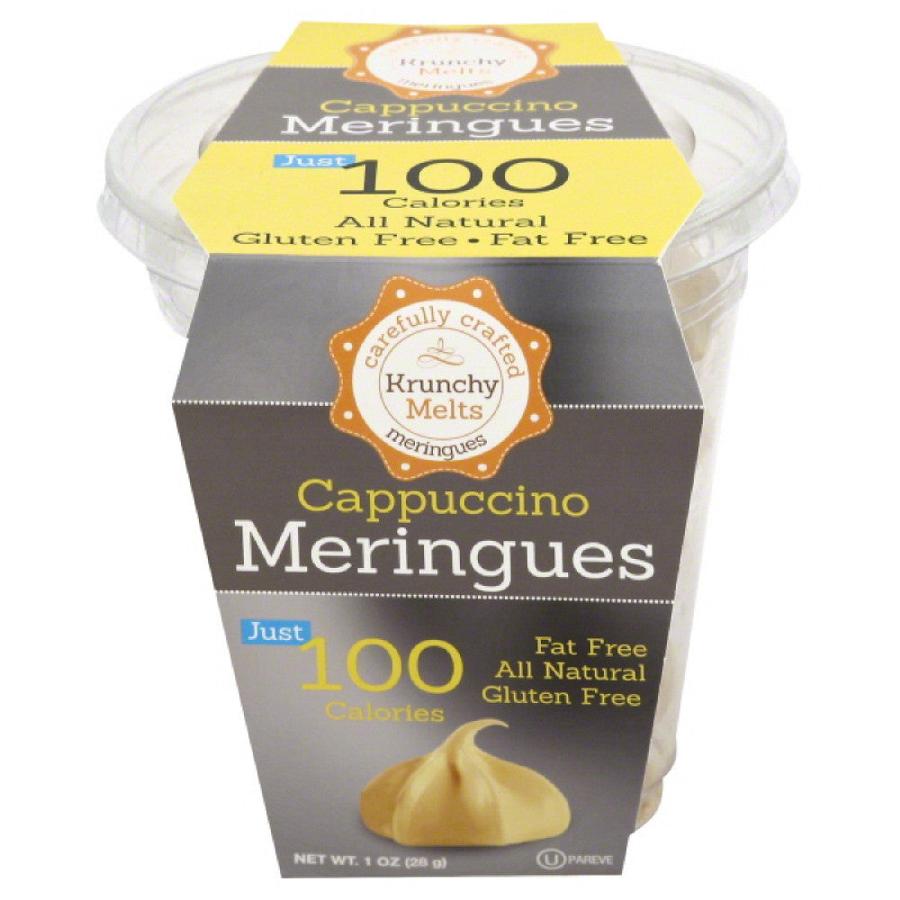 Krunchy Melts Cappuccino Meringues, 1 Oz (Pack of 12)