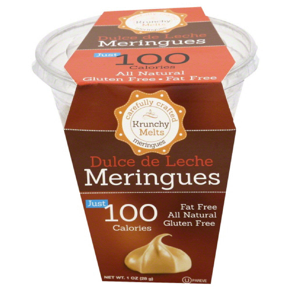 Krunchy Melts Dulce de Leche Meringues, 1 Oz (Pack of 12)