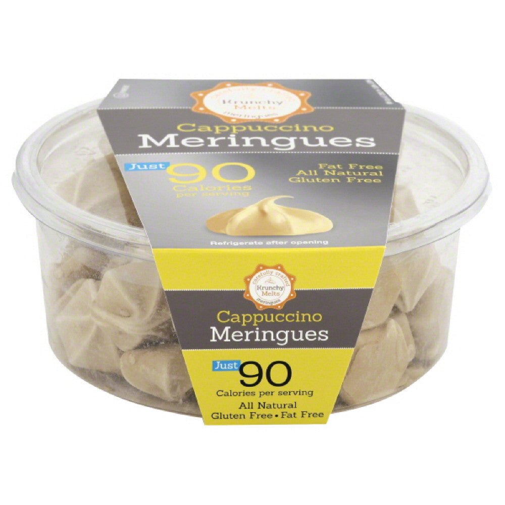 Krunchy Melts Cappuccino Meringues, 4 Oz (Pack of 12)