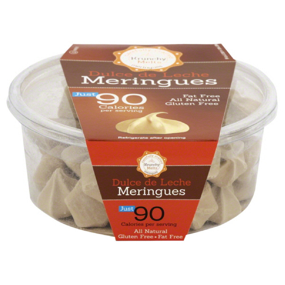 Krunchy Melts Dulce De Leche Meringues, 4 Oz (Pack of 12)