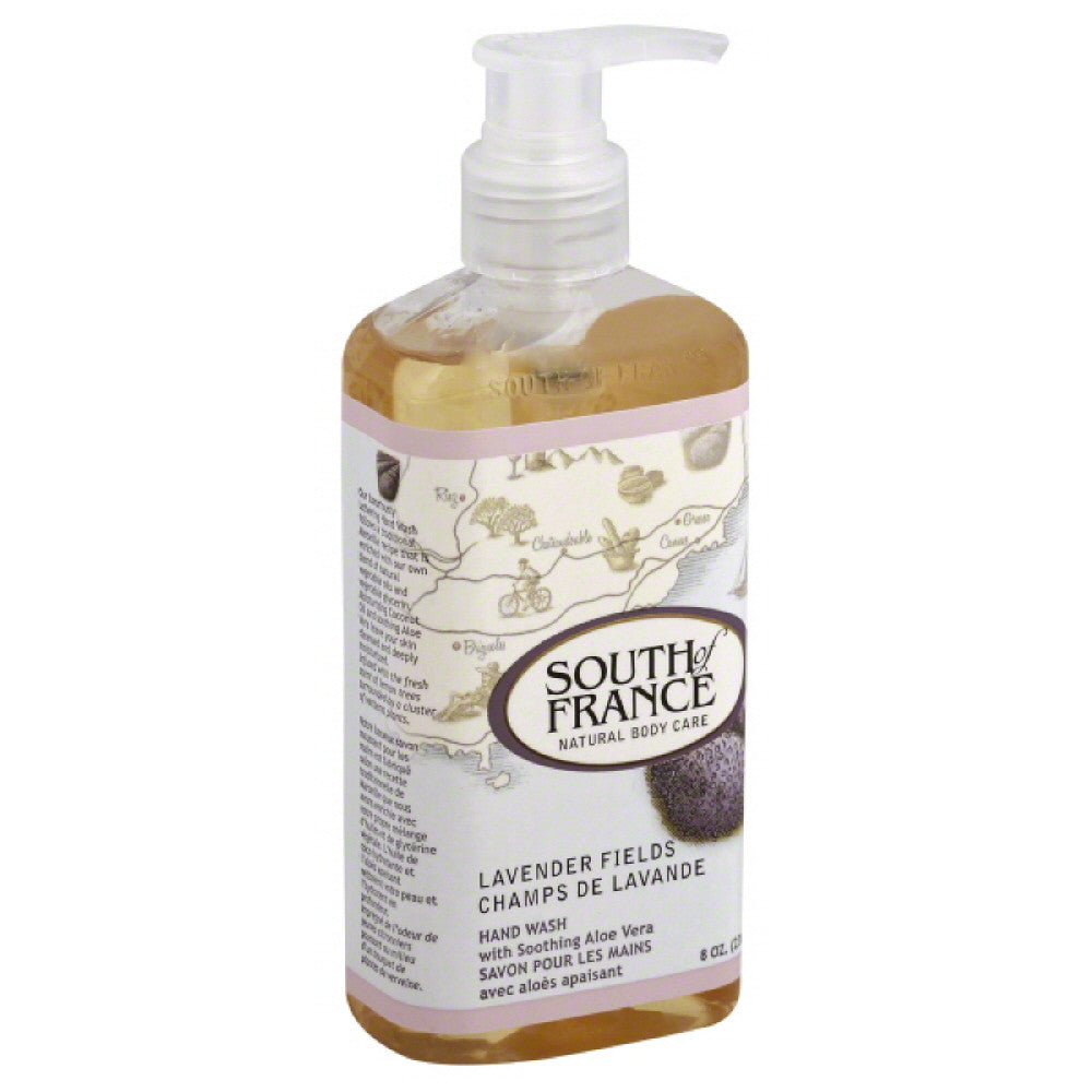South of France Lavender Fields Hand Wash, 8 Oz