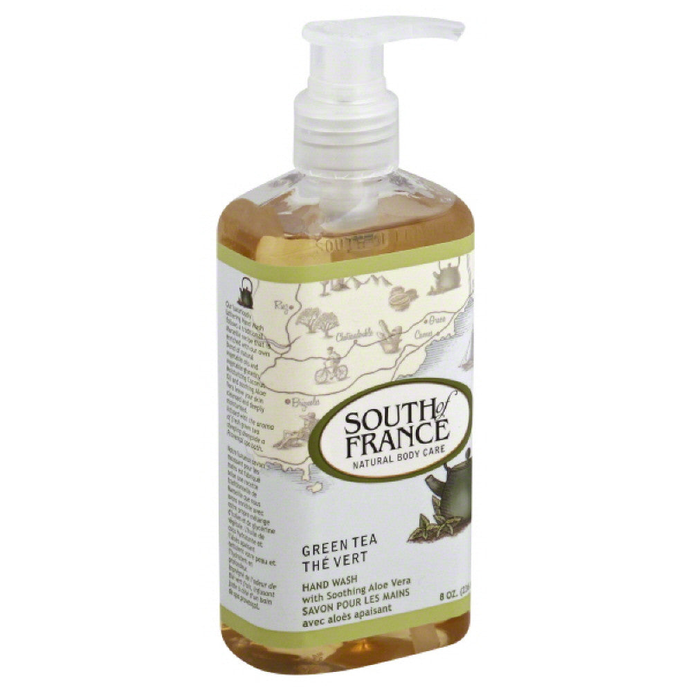South of France Green Tea Hand Wash, 8 Oz