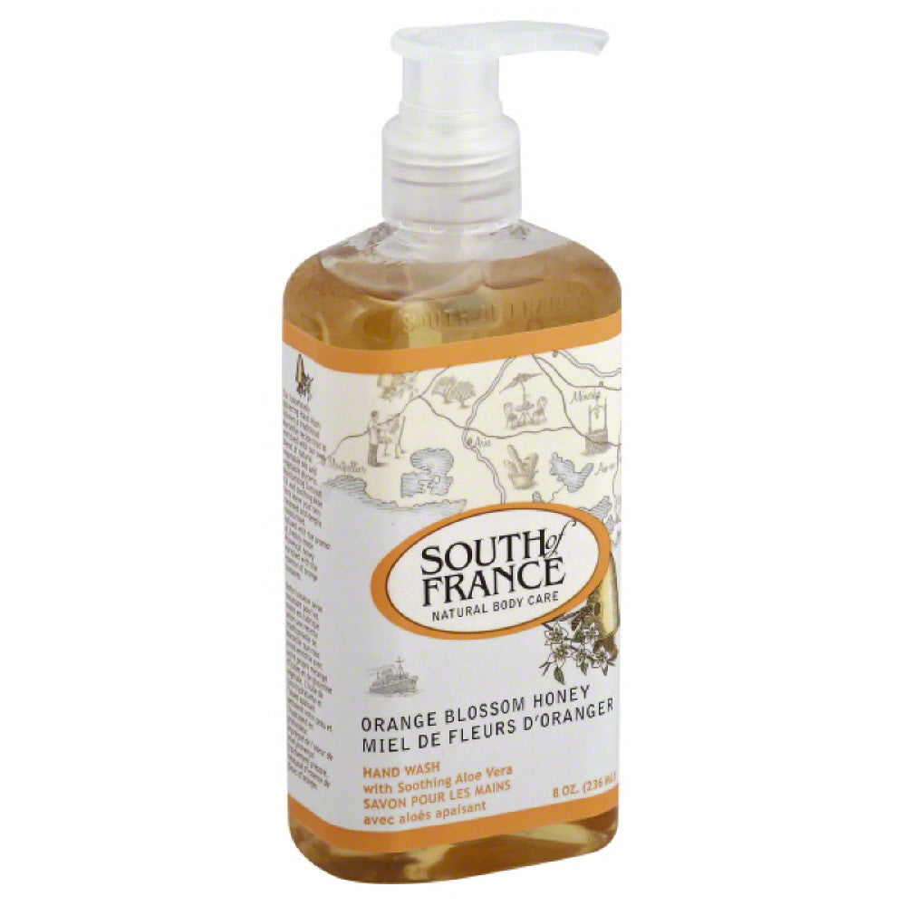 South of France Orange Blossom Honey Hand Wash, 8 Oz