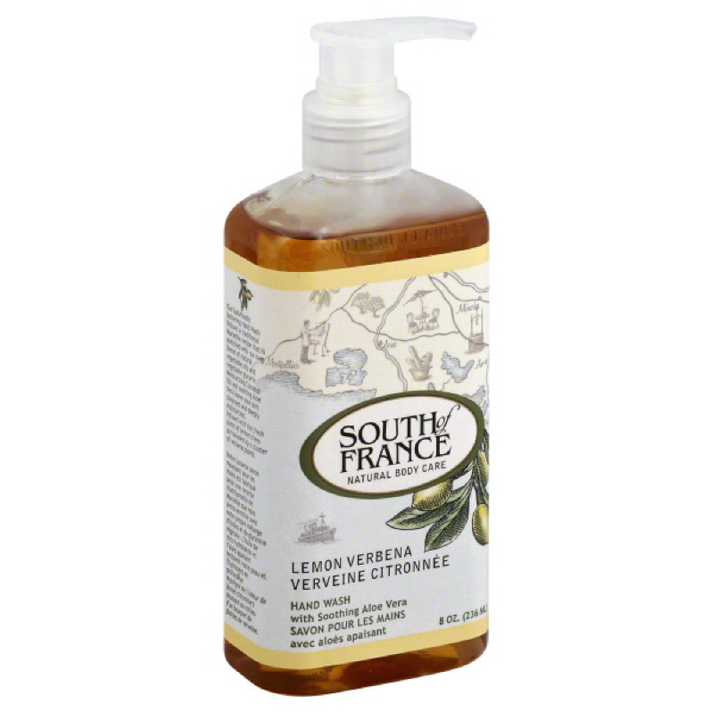 South of France Lemon Verbena Hand Wash, 8 Oz