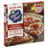 Smart Flour Foods Uncured Pepperoni Pizza, 10.1 Oz (Pack of 6)
