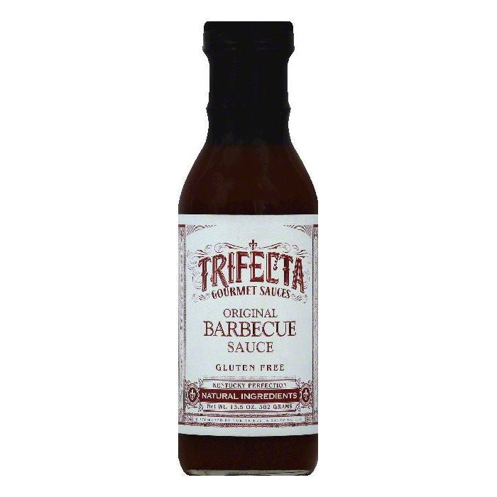 Trifecta Original Barbecue Sauce, 13.5 OZ (Pack of 6)