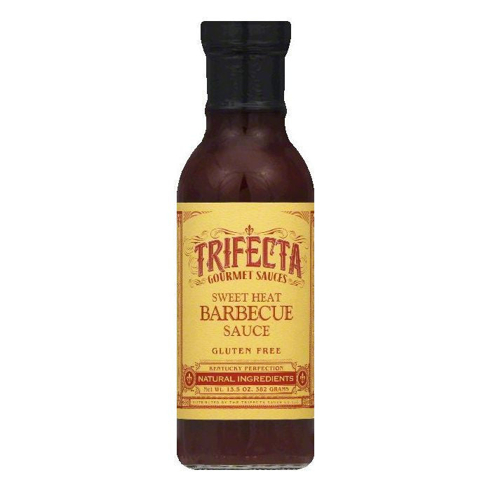 Trifecta Sweet Heat Barbecue Sauce, 13.5 OZ (Pack of 6)
