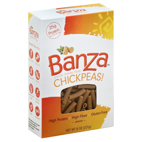 Banza Penne, 8 Oz (Pack of 6)