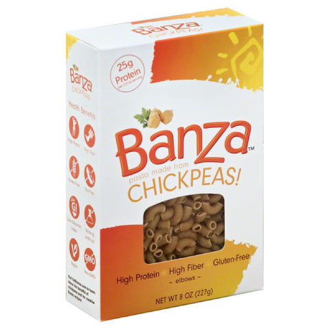 Banza Elbows, 8 Oz (Pack of 6)