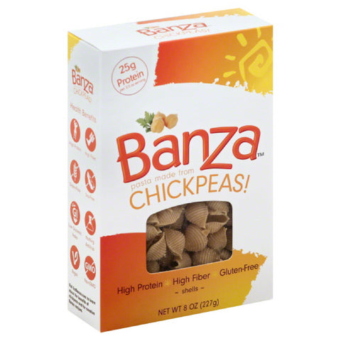 Banza Shells, 8 Oz (Pack of 6)