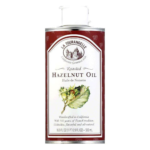 La Tourangelle Roasted Hazelnut Oil, 16.9 OZ (Pack of 6)