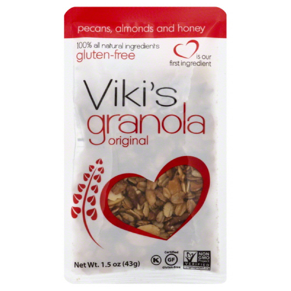 Vikis Granola Original Granola, 1.5 Oz  ( Pack of  8)