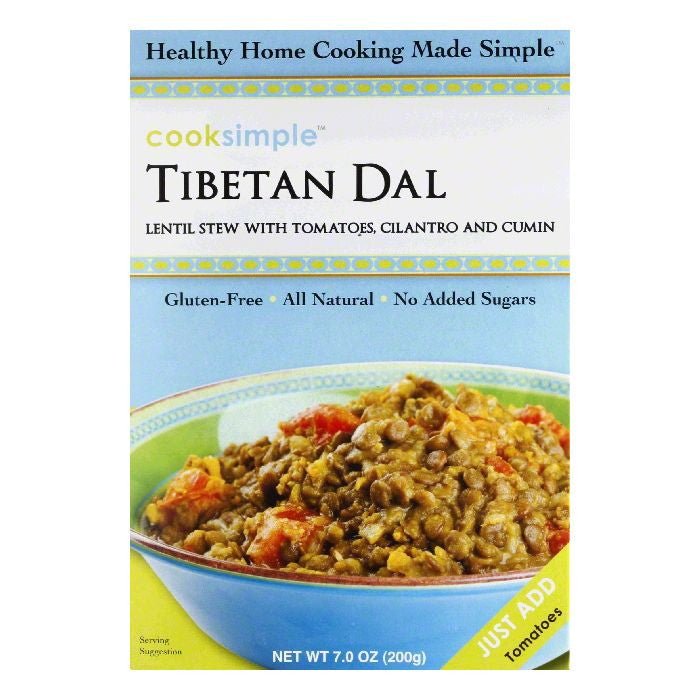 CookSimple Tibetan Dal, 7 OZ (Pack of 6)