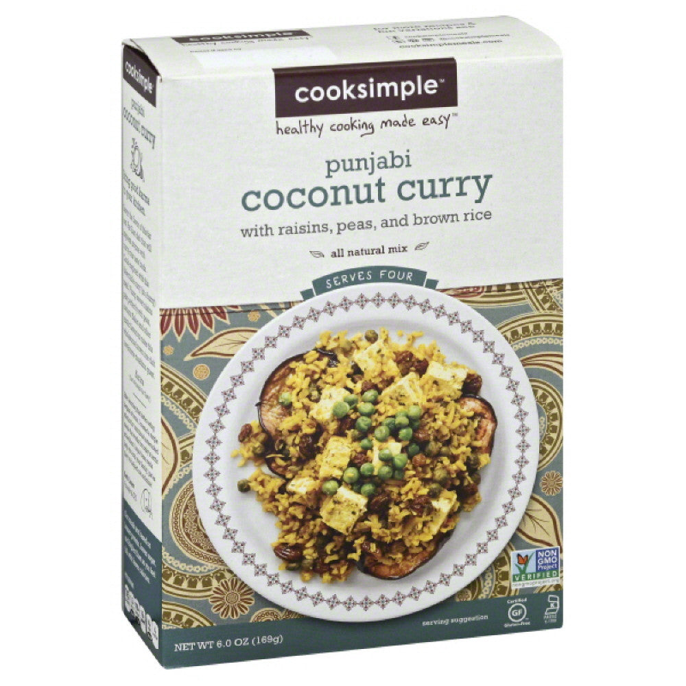Cooksimple Punjabi Coconut Curry, 6 Oz (Pack of 6)