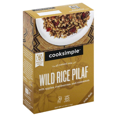 Cooksimple Wild Rice Pilaf, 4 Oz (Pack of 6)