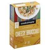 Cooksimple Cheesy Broccoli with Bean Pasta, 4 Oz (Pack of 6)