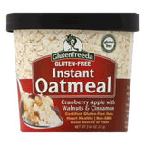 Glutenfreeda Gluten Free Cranberry Apple with Walnuts & Cinnamon Instant Oatmeal, 2.64 Oz (Pack of 12)