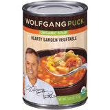 Wolfgang Puck Hearty Garden Vegetable RTS Organic Soup 14.5 oz  (Pack of 12)