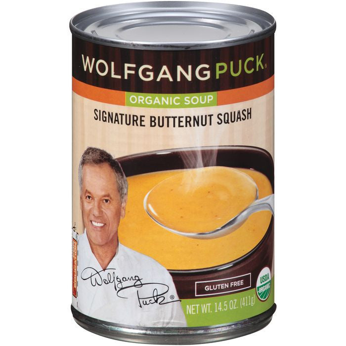 Wolfgang Puck Signature Butternut Squash RTS Organic Soup 14.5 oz  (Pack of 12)